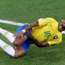Neymar'ın Sürekli Sakatlık Numarası Yapması KFC'nin Reklam Konusu Oldu
