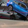 4 Milyon TL'lik Lamborghini Huracan Spyder'ın Honda Civic'in Altında Haşat Olduğu Kaza