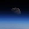 Astronot Alexander Gerst'in Yörüngeden Çektiği Muhteşem Ay Fotoğrafı
