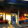 2 Milyon TL'lik Lamborghini Huracan Saçma Sapan Bir Yangında Pert Oldu (Video)