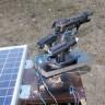 Türk Mucit Tarafından Güneş Enerjili Robot Silah Üretildi