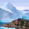 11 Milyon Tonluk Buzdağı, Grönland'da Bir Köyün Tepesine Çökmek Üzere