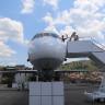 Kastamonu'da Eski Yolcu Uçağı Millet Kıraathanesine Dönüştürüldü