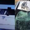İzmir'de A Haber Ekibine Ait Otomobile Uçak Çarptı