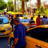 UBER'e Tepki Gösteren Taksiciler, Bodrum'da Konvoy Yaparak Yol Kapattı