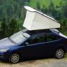 Araba Tavanında Rahatlıkla Uyumak İçin Geliştirilen Çadır