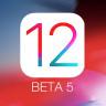 Apple, iOS 12 Beta 5'i Geliştiriciler İçin Kullanıma Sundu