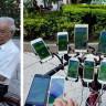 Bisikletine Monte Ettiği 11 Telefonu ile Ava Çıkan 70 Yaşındaki Pokemon Go Oyuncusu