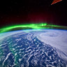 NASA, Uluslararası Uzay İstasyonu'ndan Kuzey Işıklarını Fotoğrafladı