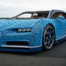 LEGO, Motorunu Bile LEGO'dan Yaptığı Gerçek Boyutta Bir Bugatti Chiron Üretti (Video)