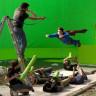 Hollywood'un Gerçek Yüzünü Gösteren Filmlerin Perde Arkasına Ait 11 Görsel