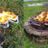 ABD'li Nike Müşterileri, iPhone Parçalayanlara Özendi: Ayakkabılar Alev Alev Yakılıyor