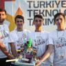 Gemileri Karadan Yürüten Robot, Teknofest'te Ödül Aldı