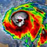 Şimdiden 13 Kişinin Canını Alan Michael Kasırgası, Uzaydan Kurukafa Gibi Görünüyor
