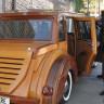 Çamlıdere Belediye Başkanı, Kendine Çam Ağacından Otomobil Yaptırdı