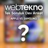 Tek Soruluk Dev Anket / Söz Sırası Sizde: Apple mı Samsung mu?