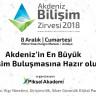 4. Akdeniz Bilişim Zirvesi, 8 Aralık'ta Antalya'da