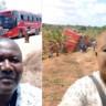 """Kaza Yapan Otobüsle """"Öncesi-Sonrası"""" Özçekimi Yapan Yolcu Viral Oldu"""