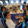 İzmir'deki Özel Bir Okulda, THY'den Alınan Uçakta Ders İşleniyor