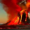Volkanlardan Fışkıran Lavların, Suya Değince Nasıl Patladıklarını Gösteren Deney