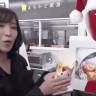 Kahve Otomatı Gibi Kızarmış Tavuk Veren Japon Robotu