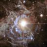 """Hubble'dan """"Tatilin Çelengi"""" İsimli Yıldız Fotoğrafı"""