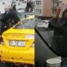 Taksiciler Tarafından Tehdit Edilen UBER Şoförünün Aracı Çekildi