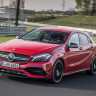 Mercedes-Benz AMG A-45'in Asfaltı Ağlatan Drift Modu (Video)