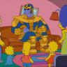 Thanos, Simpsonları Ziyaret Ederse Ne Olur? (Video)