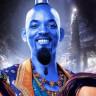 Will Smith'in Aladdin Filminde Oynayacağı Mavi Cin'den İlk Görüntü Geldi