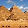 Dünya'nın 7 Harikasının Ayakta Kalan Tek Üyesi Giza Piramidi'nde Gizemli Bir Yolculuk
