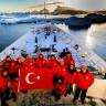 Yürüyün Aslanlar: Antarktika Bilim Seferi Ekibi Yola Çıktı