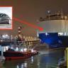 Milyonlarca Dolarlık Tesla Model 3'ler, Gemiyle Avrupa'ya Getirildi