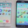 Galaxy S6 Edge vs iPhone 6 Hız Testi