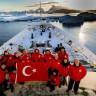 Türk Bilim İnsanlarının Antarktika Bilim Seferi, Anlamlı Mesajlarla Sonra Erdi