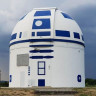 Bu Gördüğünüz Devasa R2 D2, Aslında Bir Gözlemevi