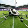 Çinlilerin Geliştirdiği Drone Taksi, İlk Uçuşunu Viyana'da Gerçekleştirdi