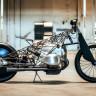 Gereksiz Hiçbir Şeyin Kullanılmadığı 'Hayalet Motosiklet' Birdcage Boxer ile Tanışın