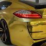 Almanya'da Altın Kaplama Porsche Panamera Trafikten Men Edildi