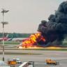 Rusya'da 41 Kişinin Öldüğü Uçağın İçinden Kaydedilen Dehşet Dolu Görüntüler (Video)