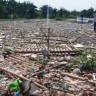 Bir Nehrin Plastik Atıklar Tarafından Nasıl Ele Geçirildiğini Gösteren Video