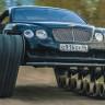 Milyon TL'lik Bentley Continental GT'nin Paletli Bir Tanka Dönüştüğünü Gösteren Video