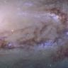 NASA, Messier 90 Galaksisinin Yüksek Çözünürlüklü Fotoğrafını Yayımladı