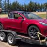 Bir Kadın, Tesla Model 3'ü Lüks Bir Pikaba Dönüştürdü (Video)