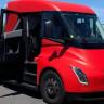 Tesla'nın Elektrikli Motorlu Kamyonu Semi'nin Prototipi İlk Kez Görüntülendi