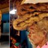 Bir Adamın 40 Yıldır Ne Kestiği Ne de Yıkadığı Saçlarının Aldığı Garip Görüntü