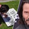 Keanu Reeves'in Bir Hayranına Yaptığı Unutulmaz Sürpriz