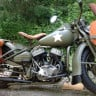 II. Dünya Savaşı İçin Üretilen Harley-Davidson Marka Motor, 70 Yıl Sonra Bulundu