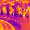 Londra Metrosunda Sıcaklığın Korkutucu Boyutlara Ulaştığını Gösteren Termal Fotoğraflar