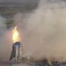SpaceX'in Dev Roketi StarHopper, Bir Haftada İkinci Kez Alevler İçinde Kaldı